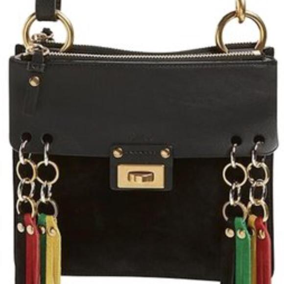 30696426bf Chloe Bags   Small Jane Tasseltrim Leather Crossbody Bag   Poshmark